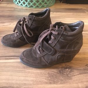 Ash Brown wedge sneakers 7